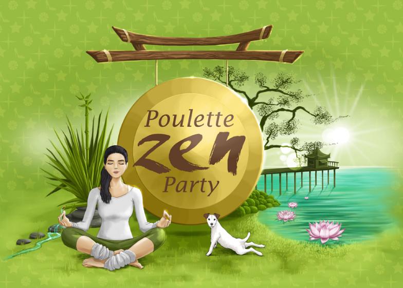 Poulette zen party à Bali