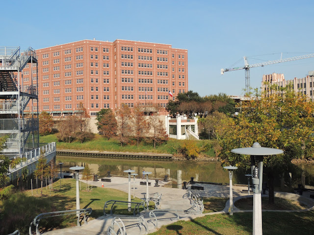 Allen's Landing redeveloped - Harris County Jail Facility