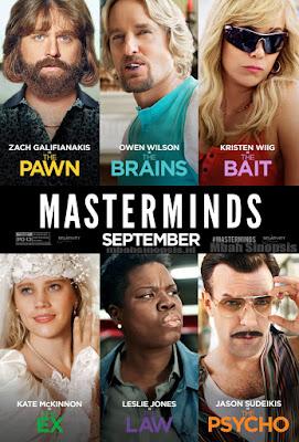 Sinopsis Film Masterminds 2016