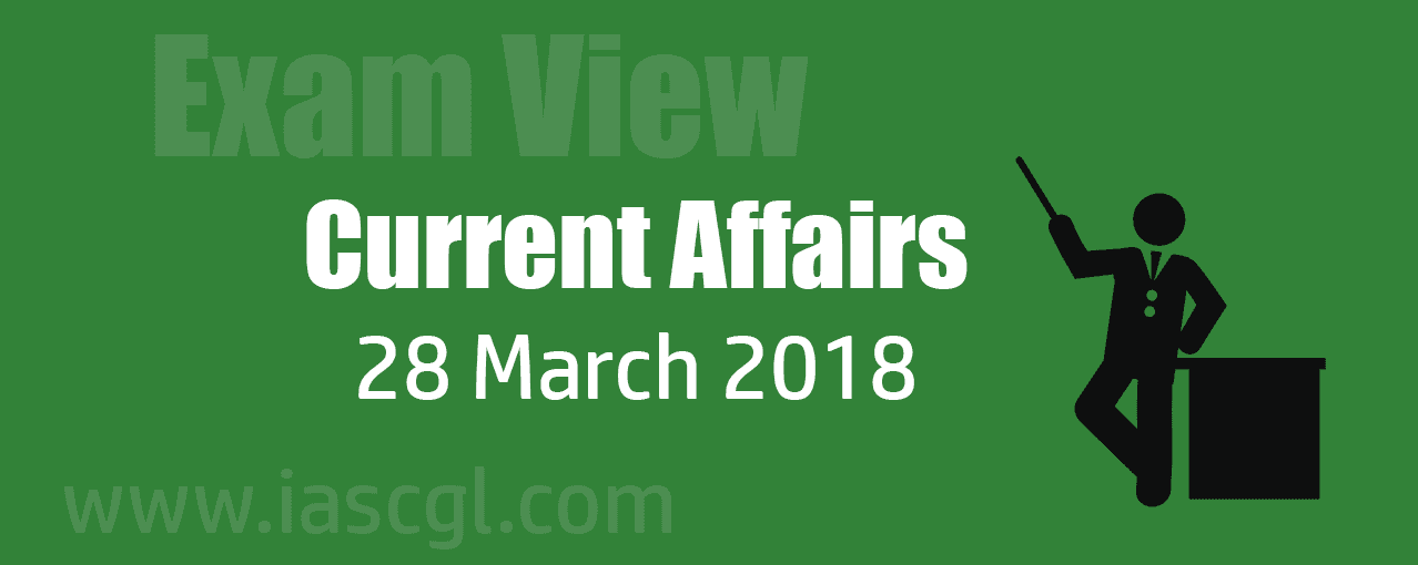 Current Affair 28 march 2018