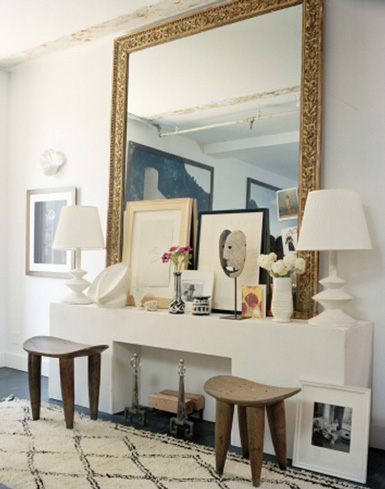 Belle Maison Inspiration Snapshots Eclectic Foyer Amp Glam