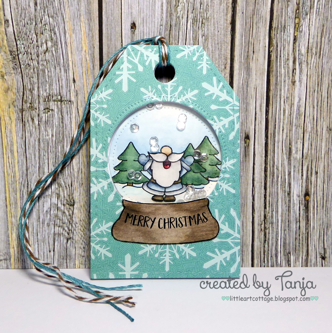 Color The Sweet Gerda Steiner Designs Snowglobe Image Available As Part Of November December Digital Stamp Bundle With Derwent Inktense Pencils And A