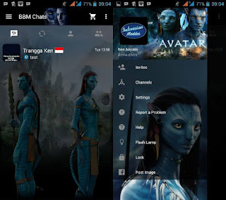 BBM Mod Avatar v2.10.0.35 Apk Clone