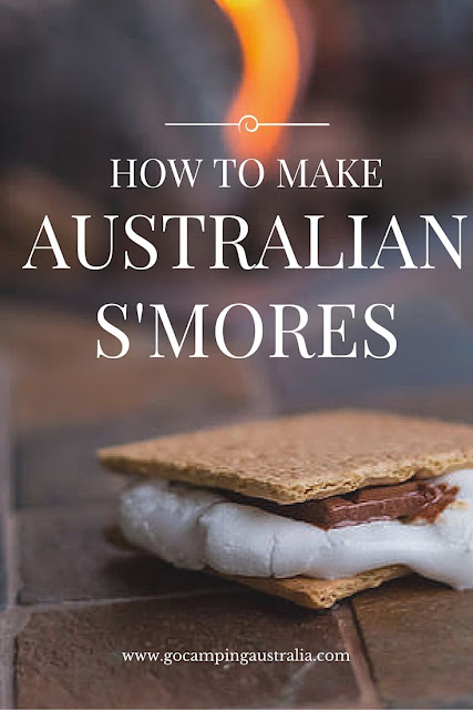 How to make Australian S'Mores guide