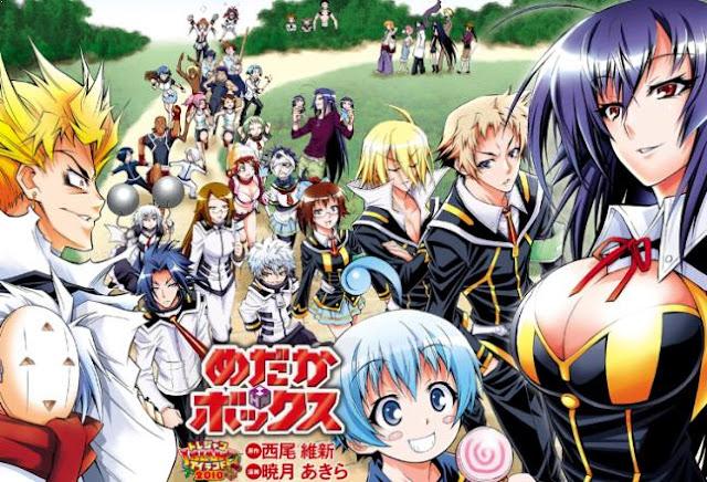 Medaka Box - Daftar Anime Martial Arts Terbaik dan Terpopuler