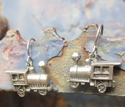 Train Earrings
