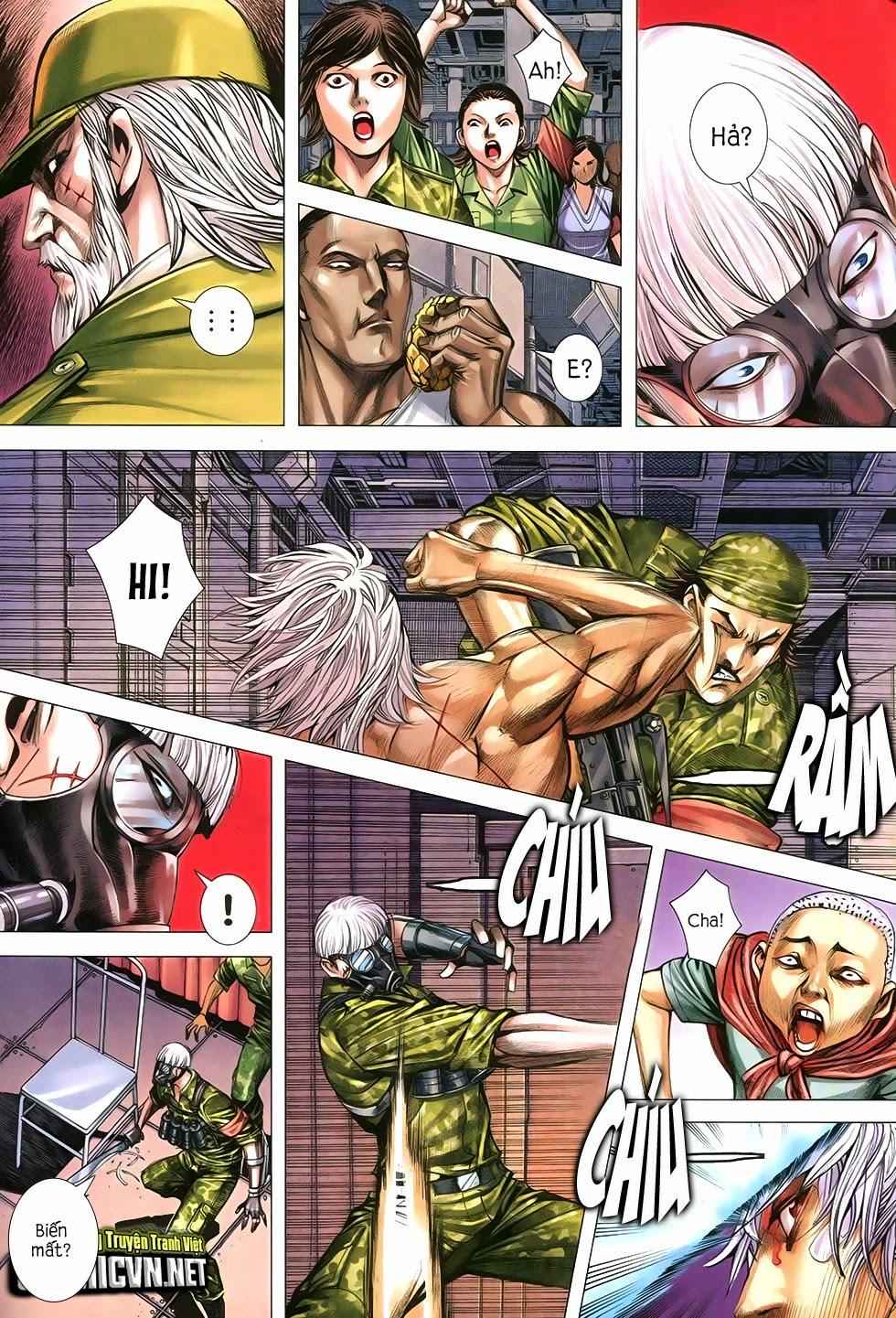 Đại Quân Phiệt chap 12 trang 21