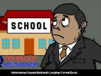 Administrasi Kepala Madrasah Lengkap Format Excel