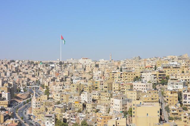 Vue de la plus haute colline d'Amman