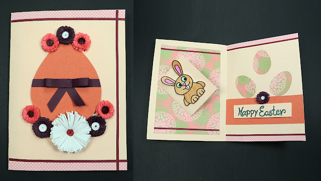 DIY Easter Quilling Cards