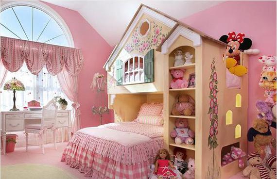 Konsep Tema Bilik Tidur Untuk Anak Perempuan