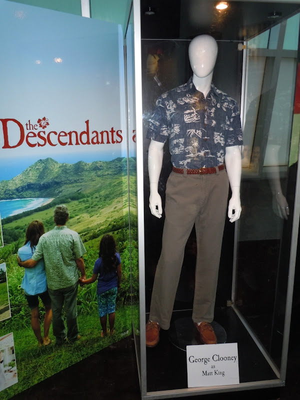 George Clooney The Descendants costume