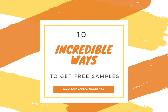 10 Incredible Ways to Get Free Samples  via  www.productreviewmom.com