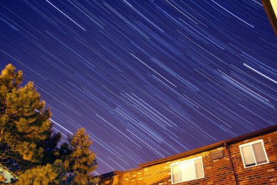 star trails after color manipulation