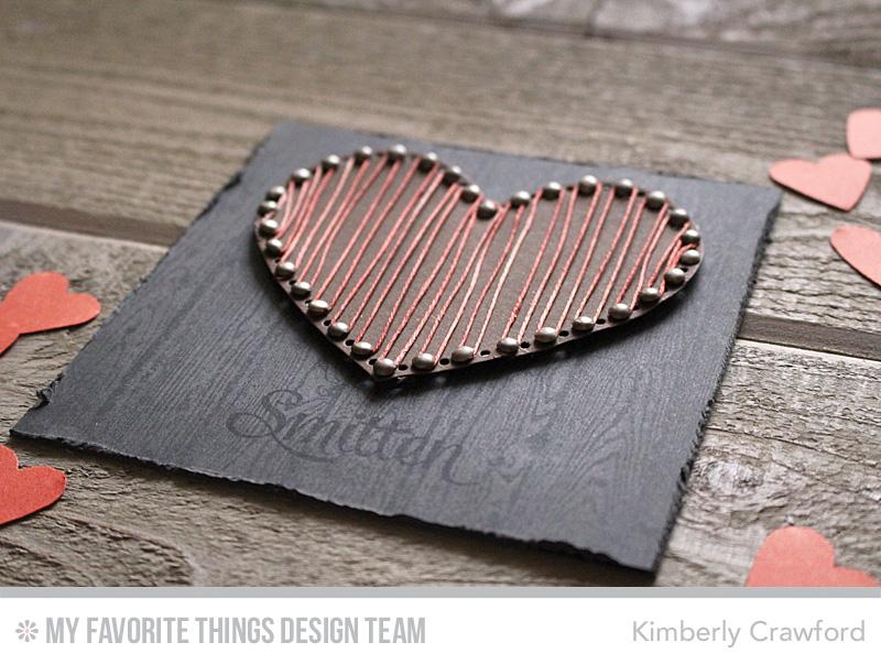 For The Love Of Paper Heart String Art Mft Design Team January