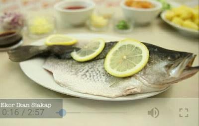 Resepi Ikan Siakap Masak Tiga Rasa Paling Sedap