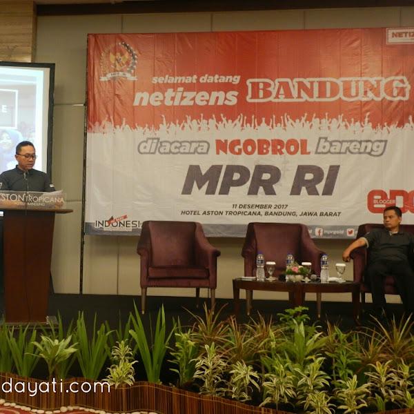 Ngobrol Asik Bareng MPR RI: Mengurai Benang Kusut Permasalahan Negeri