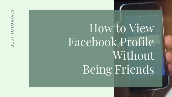 How To See Someones Facebook Without Being Friends<br/>