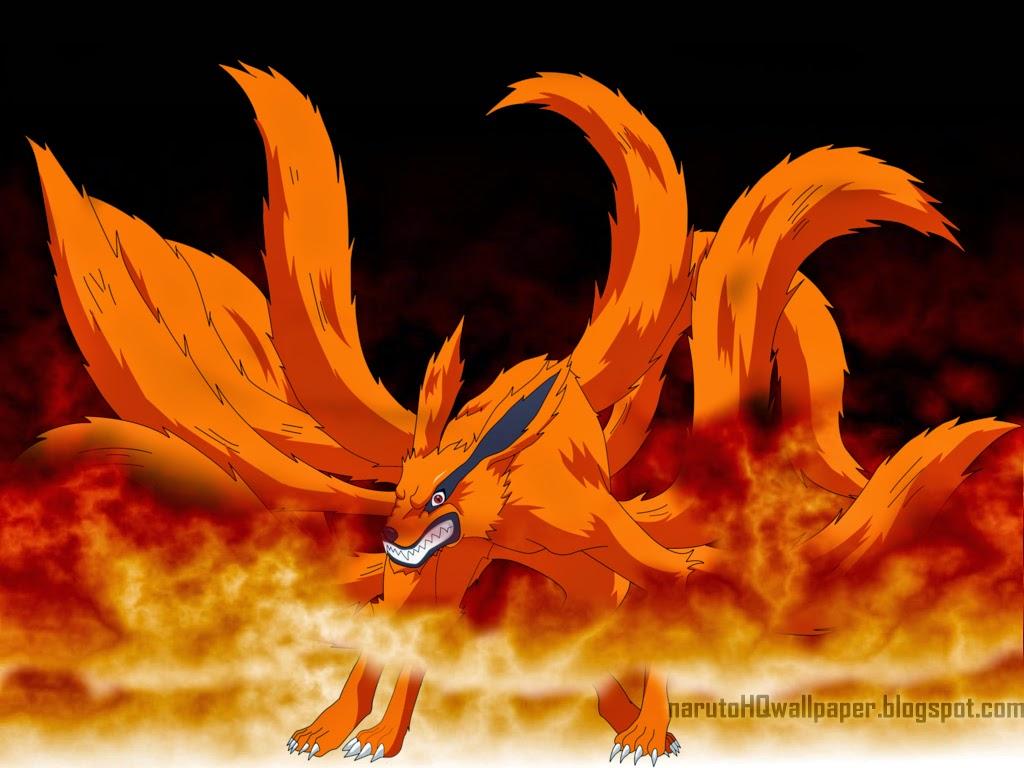Kurama Kyuubi : Nine Tailed Demon Fox   Naruto Shippuden ...