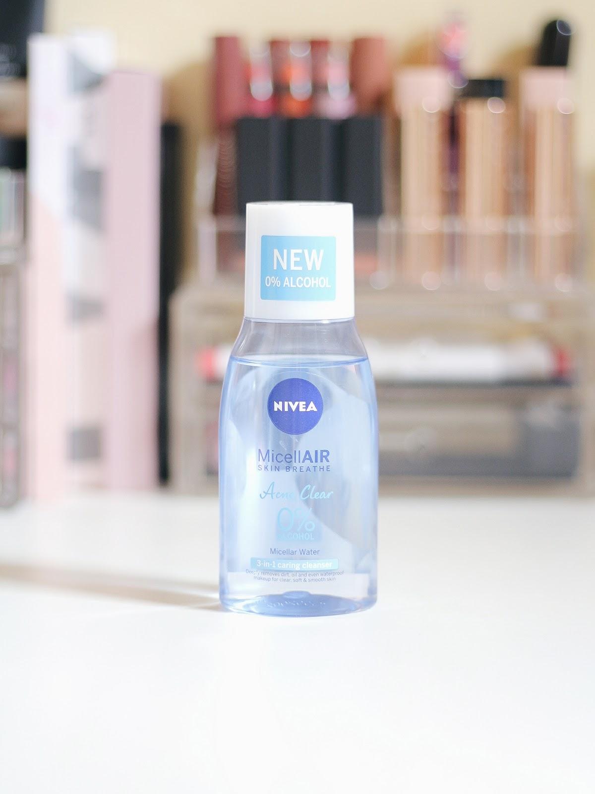 Nivea Micellair Review Acne Clear Makeup In Manila L Oreal Micellar Water 250ml Blue