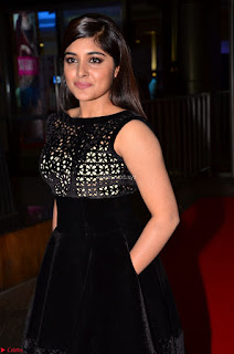 Niveda Thomas Black Sleeveless Cute Dress at 64th Jio Filmfare Awards South 2017 ~  Exclusive 032.JPG