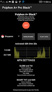 Download Psiphon A+ Pro Black Gratis Untuk Android