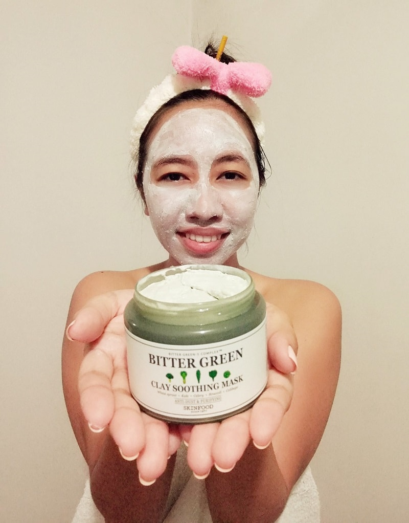 Skinfood Bitter Green Soothing Clay Soothing Mask Review