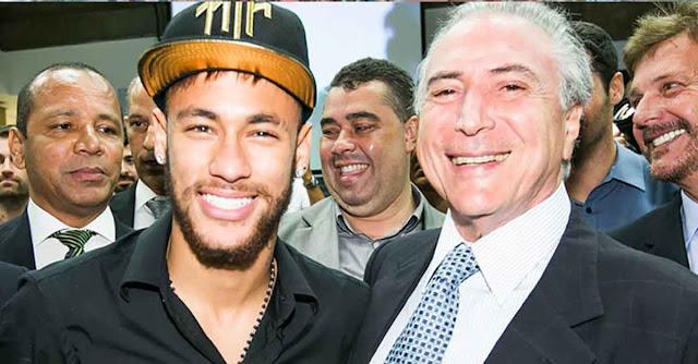 Receita Federal perdoa dívida de R$ 200 milhões de Neymar