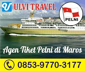 Ulvi Travel | Agen Penjualan Tiket Kapal PT. Pelni di Maros