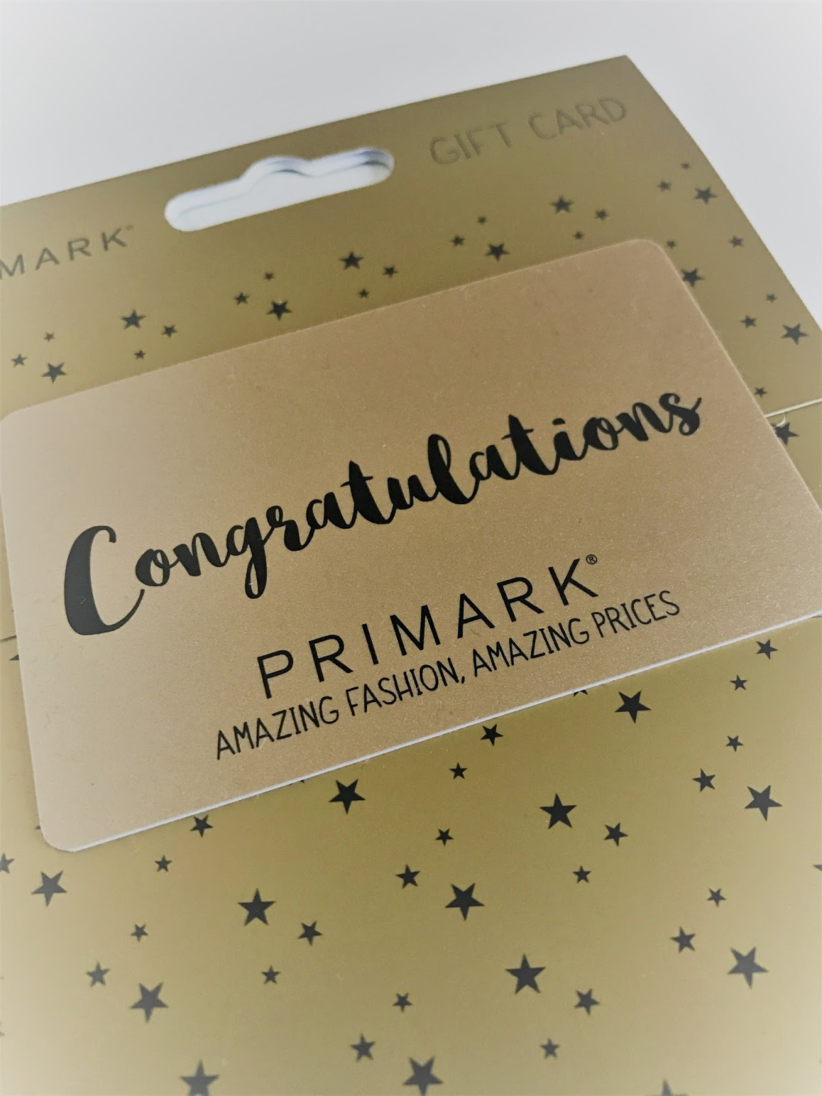 Primark giftcard