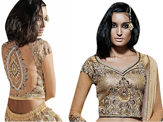 Choli is a tightly fitted short-sleeved blouse type bodice top, a traditional upper garment of Indian women