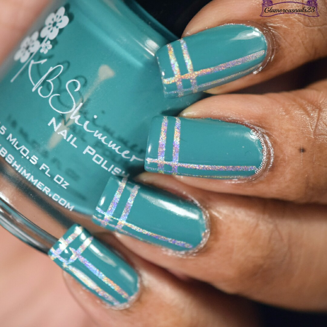 Striping Tape Nail Art Tutorial: Easy Striping Tape Nail Art +Tutorial