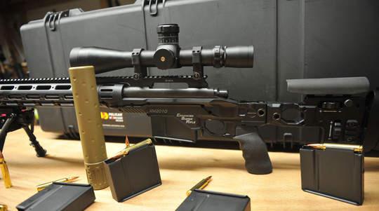 Senapan sniper akurat