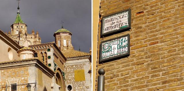 the green frog souvenirs du mois de novembre 2018 visite ville espagnole teruel cathédrale santa maria amants de Teruel