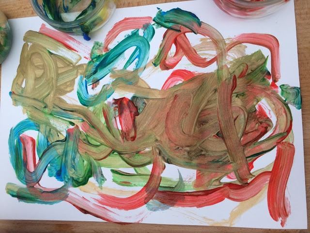 A childs painting
