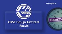 GRSE Design Assistant Result