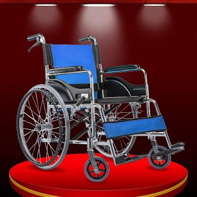 Thiết bị xe lăn tay cho người di chuyển khó khăn