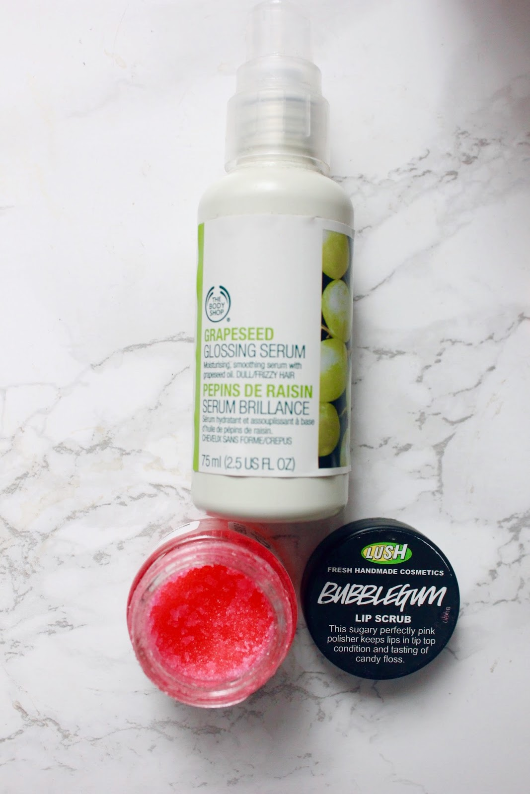 LUSH Bubblegum lip scrub - How to De-Stress for a perfect night's sleep - Stealstylist.com
