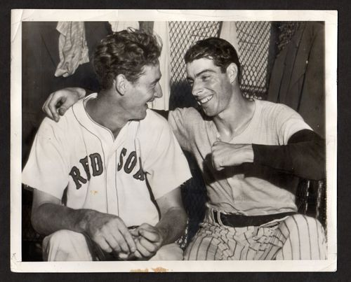 Ted Williams and Joe DiMaggio, 8 July 1941 worldwartwo.filminspector.com