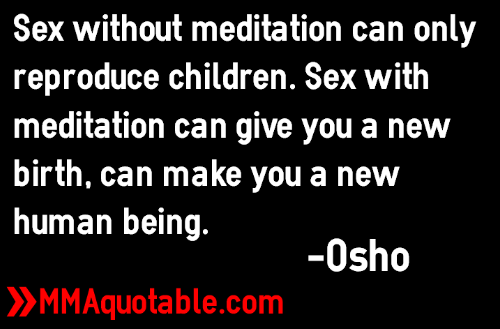 Osho quotes on sex