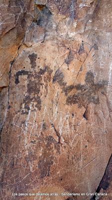 Grabados aborígenes Morro del Cuervo