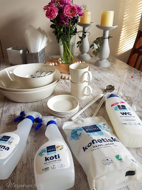 kiilto clean hajusteeton airi siivoustuotteet
