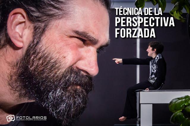 La técnica de la perspectiva forzada