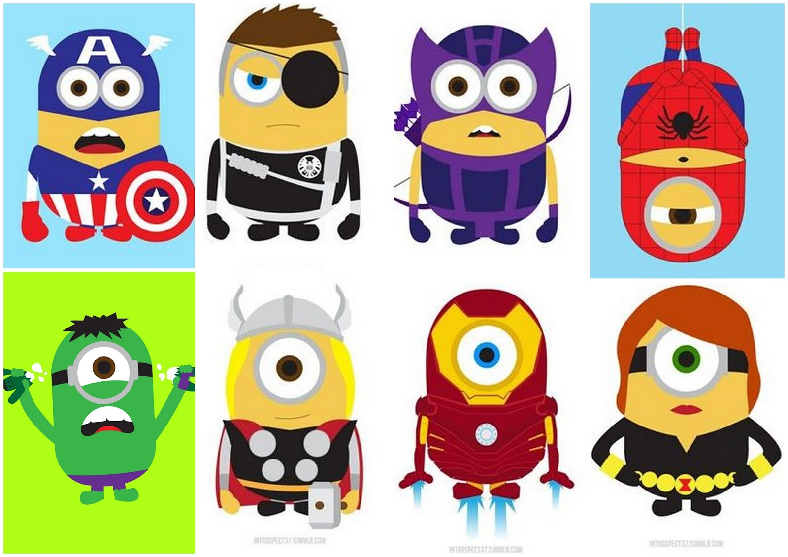 Minions Avengers Oh My Fiesta For Geeks