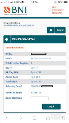 Bayar Tagihan Listrik Via BNI Mobile Banking dan Internet Banking
