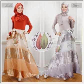 Model Baju Gamis Wanita Muslim Modern Terbaru