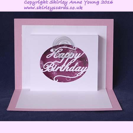 Shirleys Cards Happy Birthday Popup Card Freebie