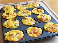 Easy Breakfast Casserole Muffins {Freezer Meal}