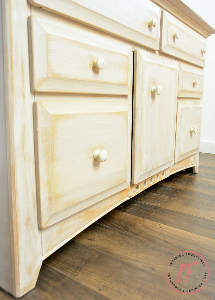 White Sideboard Buffet Cabinet Skirt