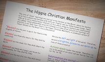 The Hippie Christian Manifesto